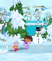 Dora Saves the Snow Princess Boxart