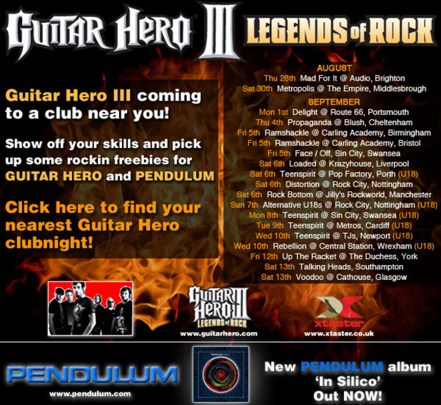 Guitar Hero III: Legends of Rock Artwork - 1009135