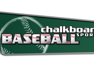 Chalkboard Sports Baseball Image