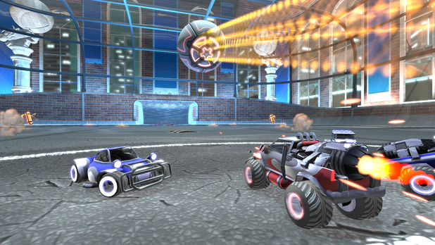 Supersonic Acrobatic Rocket-Powered Battle-Cars Screenshot - 1011522