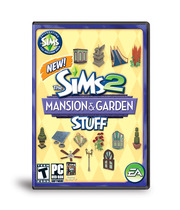 The Sims 2 Mansion & Garden Boxart