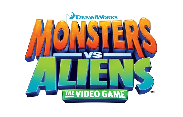 Monsters vs. Aliens Logo - 1016103