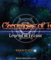 Chronicles of Inotia: Legend of Feanor Boxart