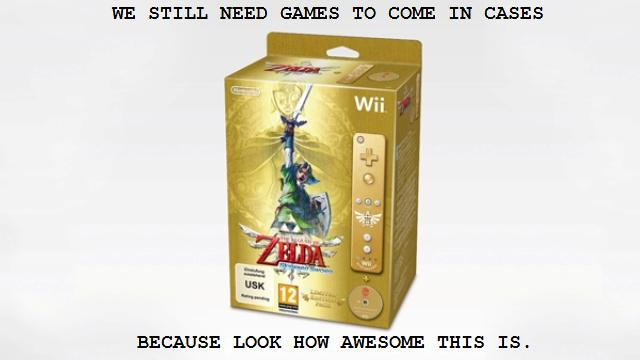 game box zelda wii