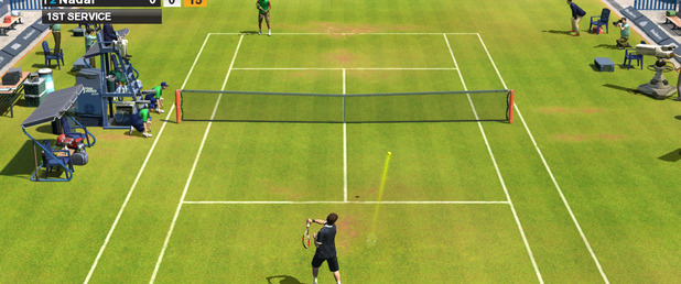 Virtua Tennis 2009 - Feature