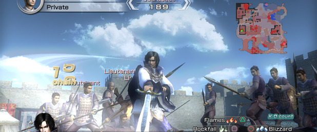 Dynasty Warriors 6 Empires - Feature