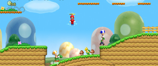New Super Mario Bros. Wii - Feature