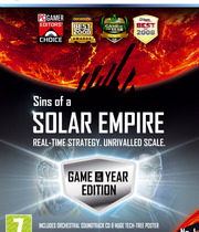 Sins of a Solar Empire Game Of the Year Edition Boxart