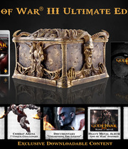 God of War III Ultimate Edition Boxart