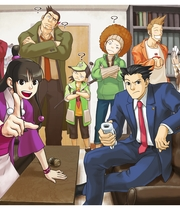 Ace Attorney Series Boxart