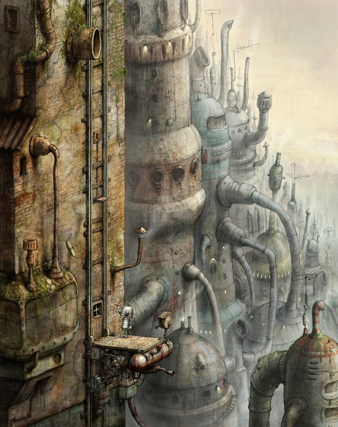 Machinarium Artwork - 1039370