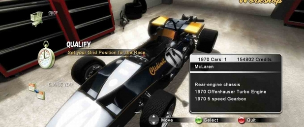 Indianapolis 500 Evolution - Feature