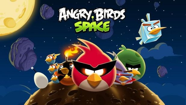 Angry Birds Space Screenshot - 1043181