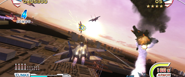 After Burner: Climax - Feature