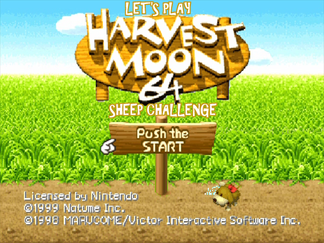 Natume - Harvest Moon 64