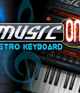 Music on: Retro Keyboard Image