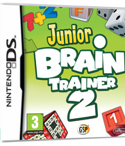 Junior Brain Trainer 2 Boxart