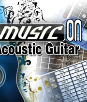 Music on: Acoustic Guitar Boxart