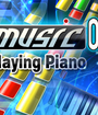 Music on: Playing Piano Image