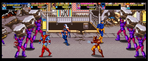 X-Men Arcade - Feature