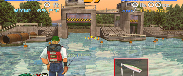 SEGA Bass Fishing - Feature