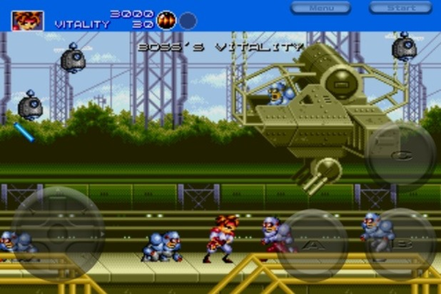 Gunstar Heroes Screenshot - 1063511