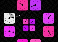 Clock Blocks Image