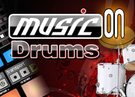 Music on: Drums Image