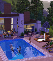 The Sims 3 Outdoor Living Stuff Boxart
