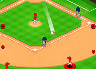 Big Hit Baseball Image