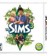 The Sims 3 for 3DS Boxart