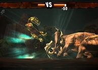 Combat of Giants Dinosaurs 3D Image