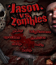 Jason vs Zombies Boxart