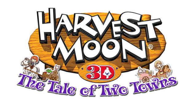 Harvest Moon: The Tale of Two Towns Logo - 1074939