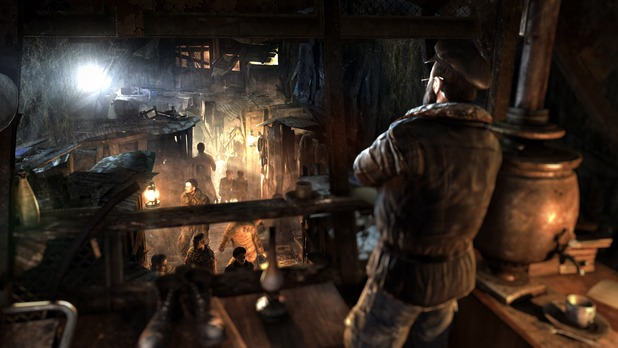 Metro: Last Light screenshot tunnels