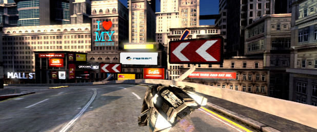 WipEout 2048 - Feature