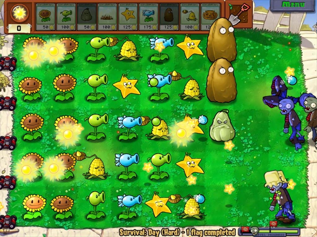 plants of zombies