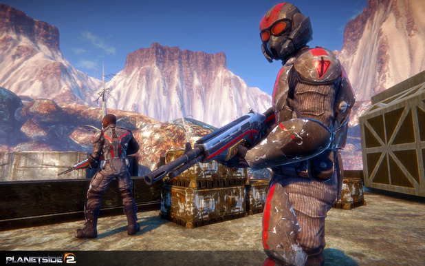 PlanetSide 2 - Feature