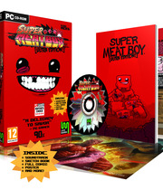 Super Meat Boy - Ultra Rare Edition Boxart