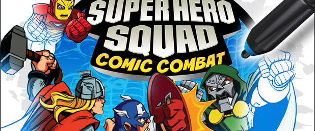 uDraw Marvel Super Hero Squad: Comic Combat - Feature