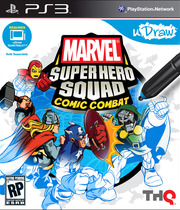 uDraw Marvel Super Hero Squad: Comic Combat Boxart