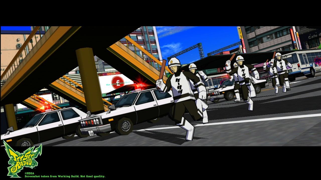 jet set radio psn xbox live