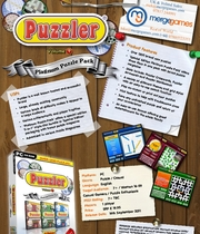 Puzzler Pack (Arrowwords, Crosswords & Wordsearch) Boxart