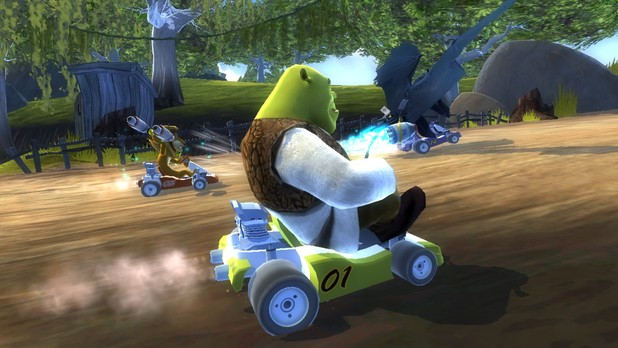 DreamWorks Super Star Kartz Screenshot - 1088378