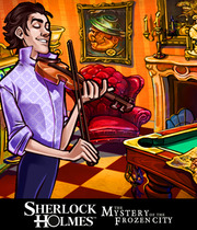 Sherlock Holmes and the Mystery of the Frozen City Boxart