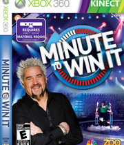 Minute To Win It for Kinect Boxart
