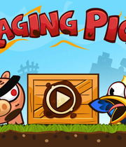 Raging Pigs HD Boxart