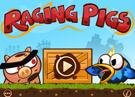 Raging Pigs HD Image