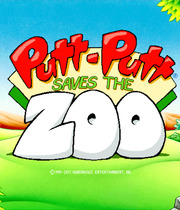 Putt Putt Saves the Zoo Boxart