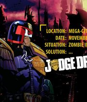 Judge Dredd vs. Zombies Boxart
